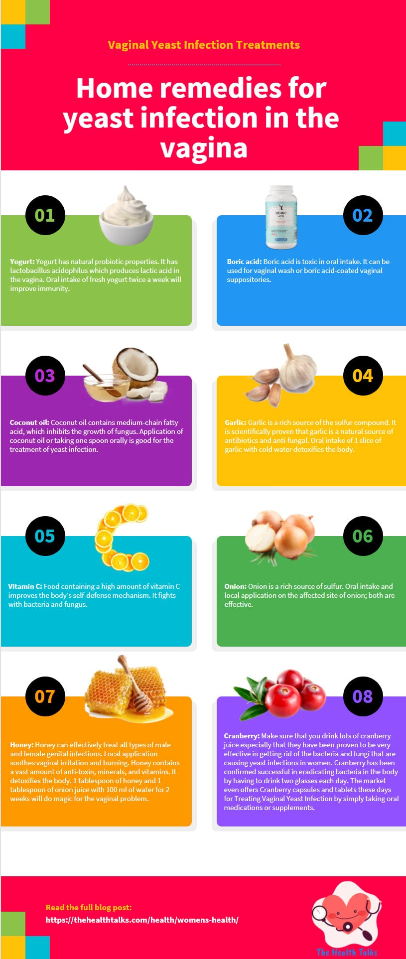 infographic Vaginal Yeast Infection